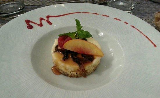 Le Petit Manoir : Cheese cake
