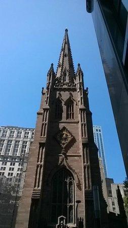 Trinity Church : Um Diferencial no Centro Econômico de NY