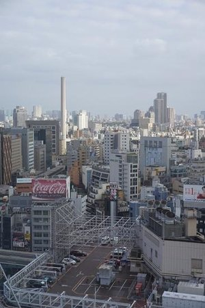 Shibuya Excel Hotel Tokyu: from the room window