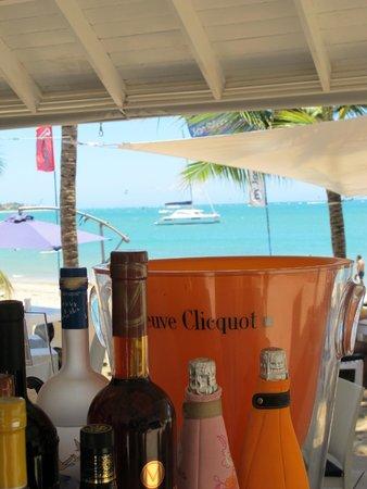 Eze Beach Bar Restaurant: Beach