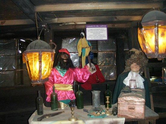 Museo de los Naufragios y Tesoros: recuerdo.