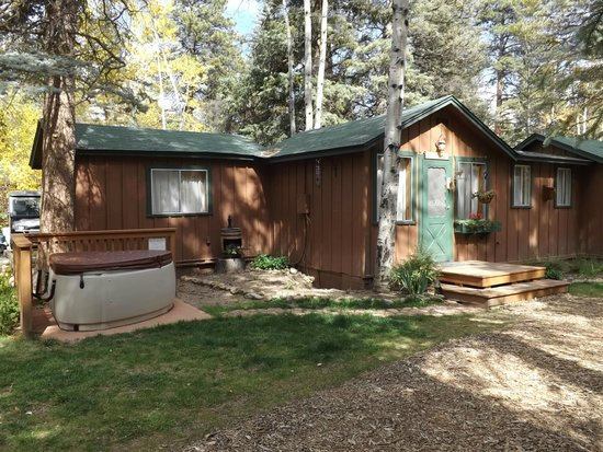 in estes park river vacation lodging the on cabins tranquility elk central