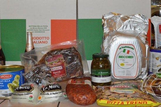 La Bottega della Pizza: I nostri ingredienti