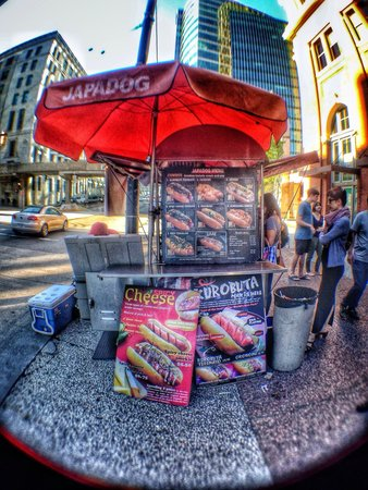 Japadog - hotdogs with an Asian twist