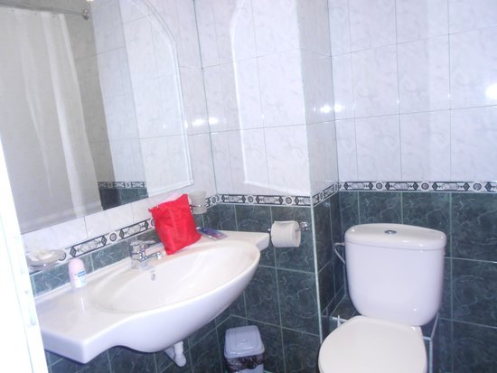 Sunny Day Hotel And Apartments: Beautiful shower room/toilet