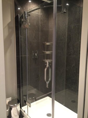 Bower Hotel + Suites : Douche à jet de pluie