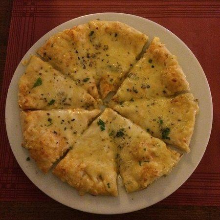 Organic : Pizza 4 formaggi. Per nulla pesante e molto gustosa