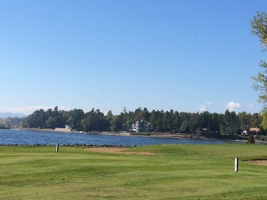 Bluff Point Golf Resort: View from the Par 3 Fifth hole fairway