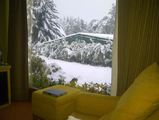 Antuquelen Hosteria Patagonica: Vista de habitacion