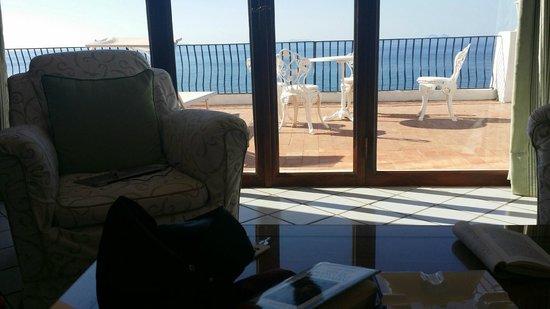 Hotel Punta Rossa: Terrazzo della superior suite