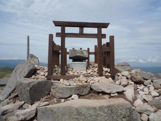 車山高原, 車山神社