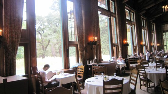 menu - picture of the majestic yosemite dining room, yosemite