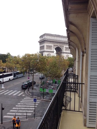 Splendid Etoile Hotel: View from our room (204)