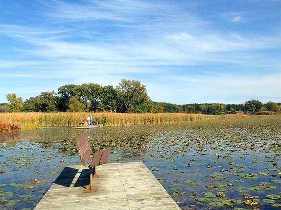 Moraine Hills State Park : Defiance Lake