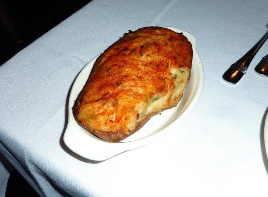 Moishes Steakhouse: Twice Baked Potato