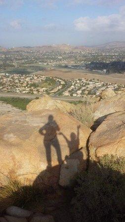 Mount Rubidoux Park: At very top