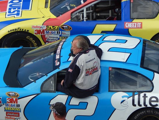"Rusty Wallace Racing Experience: Getting in the ""window"""
