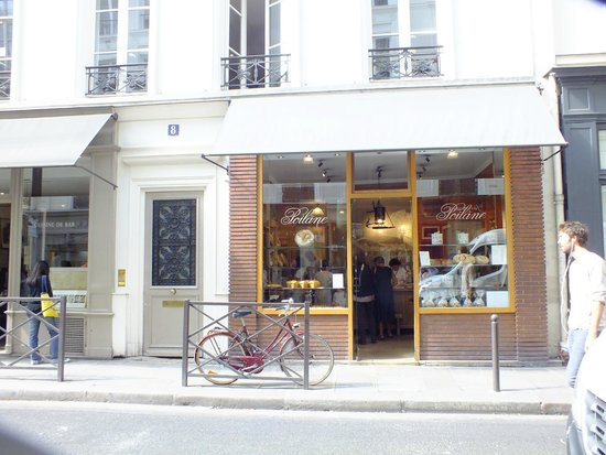 Boulangerie Poilane: at the original location in St. Germain des Pres