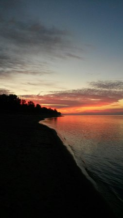 Long Point Provincial Campground: September 28 sunrise long point