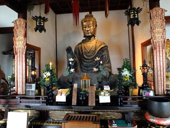 Asuka-dera Temple Old Site: 飛鳥大仏 (釈迦如来像)
