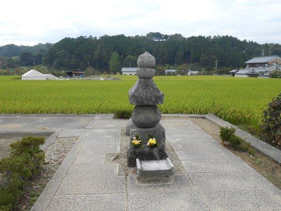 Asuka-dera Temple Old Site: 蘇我入鹿首塚