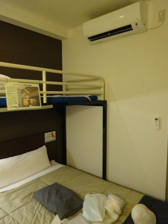 Super Hotel Naha Shintoshin: 超級房