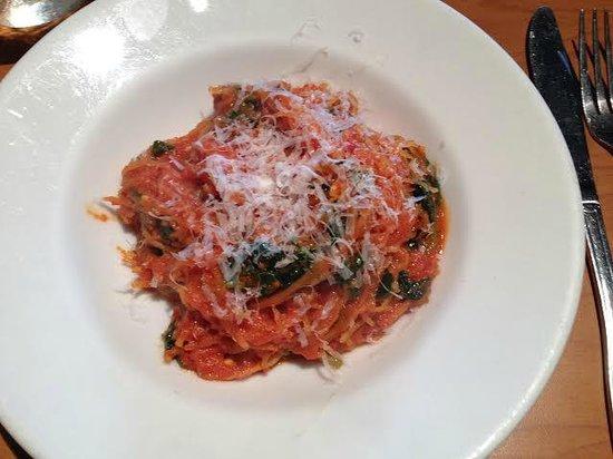 Tre Pazzi Trattoria: Spaghetti Squash