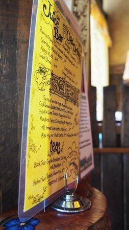 Yellow Deli : menu