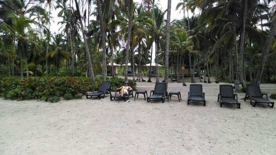 Tayrona Tented Lodge ecohotel & Vista del hotel - Picture of Tayrona Tented Lodge Tayrona ...