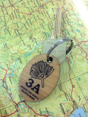 Around the World Backpackers: key