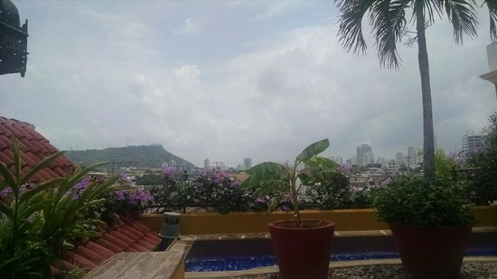 Casa El Carretero: View from the Rooftop Pool