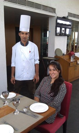 Aurick Hotel: yummy food with chef