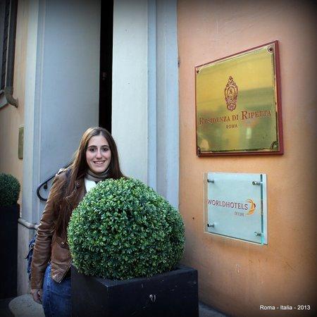Residenza di Ripetta: En el acceso