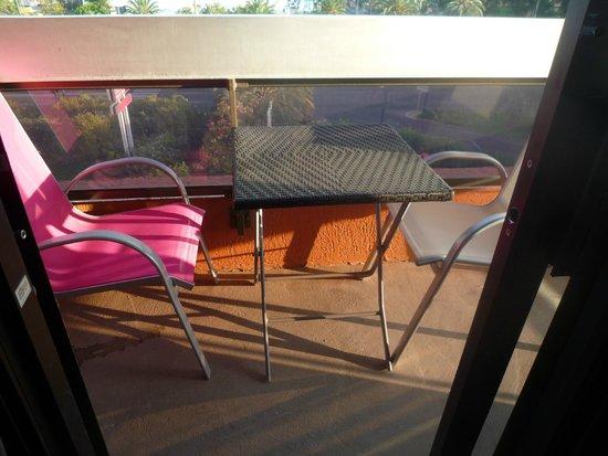 Mercure Hyeres Centre Hotel : balcon