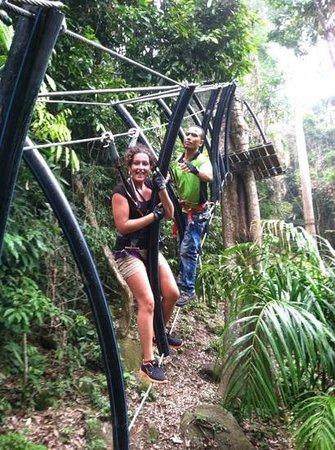 The Villa Langkawi: skytrek adventure