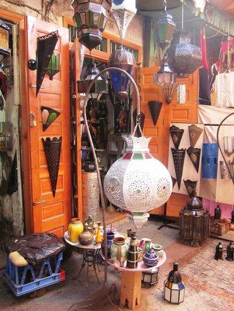 Medina of Rabat : Colourful artisana goods