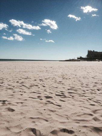 Playa de la Zenia: it won't look like this at midday!