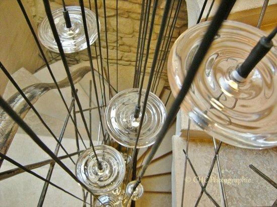 La Maison du Passage : Escalier décoré