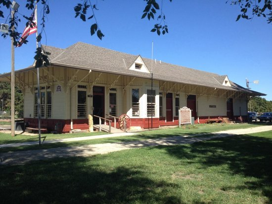 Abilene, KS: Train Depot