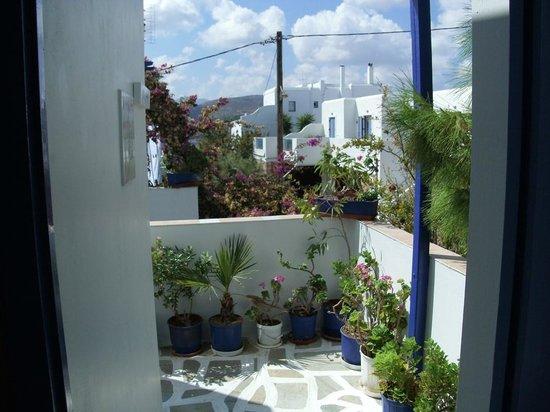 "Terasse from  "" Villa Galini "", Paros/GR."
