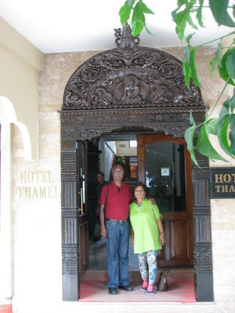 Hotel Thamel: Entrance