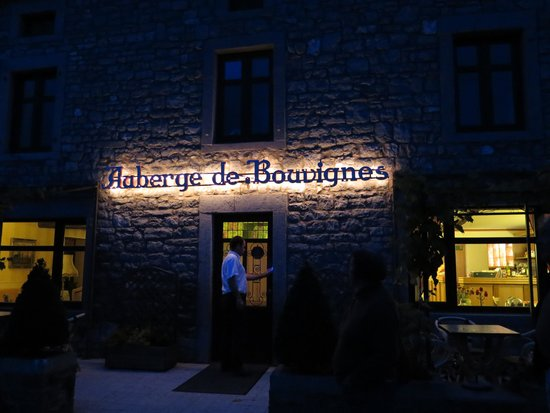 L'Auberge de Bouvignes : The evening
