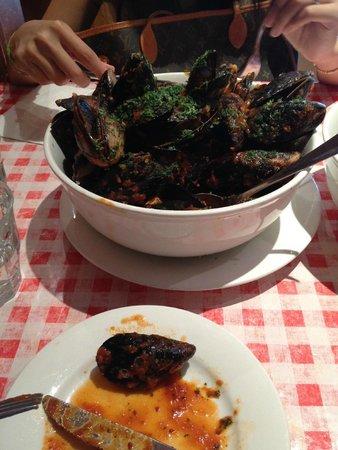 Il Ciao Ristorante Pizzeria : Chilly Mussels