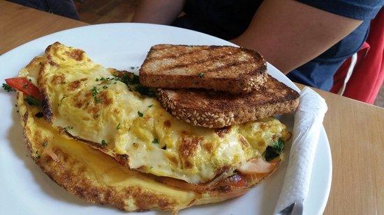 "Devonport Stone Oven Bakery & Cafe: Special for the day: ""Popeye"" omelette"