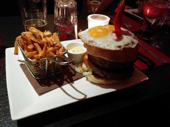 Le Cap'Tain: Burger TK