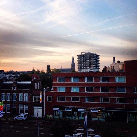 Park Plaza Eindhoven: Вид из окна отеля