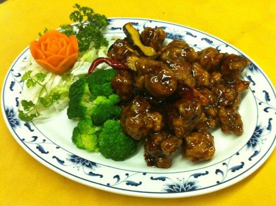 Orange Chicken - Picture of China Garden Restaurant, Chattanooga ...