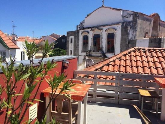 Cafe Galeria House of Wonders: Roof terrace