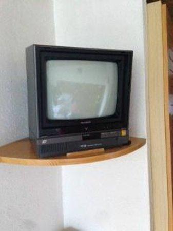 Hotel Fiescherhof: La TV
