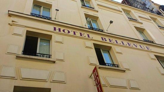 Hôtel Bellevue Paris Montmartre : fronte strada